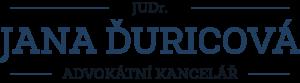 JUDr. Jana Ďuricová, advokátka